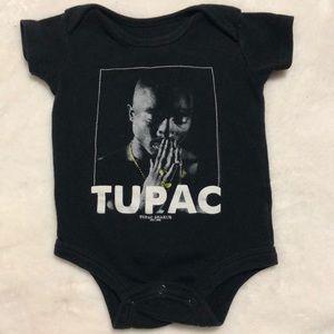 Tupac onesie